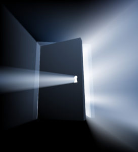 Open up - life's knocking at the door!