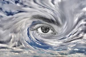 61725622 - storm eye concept